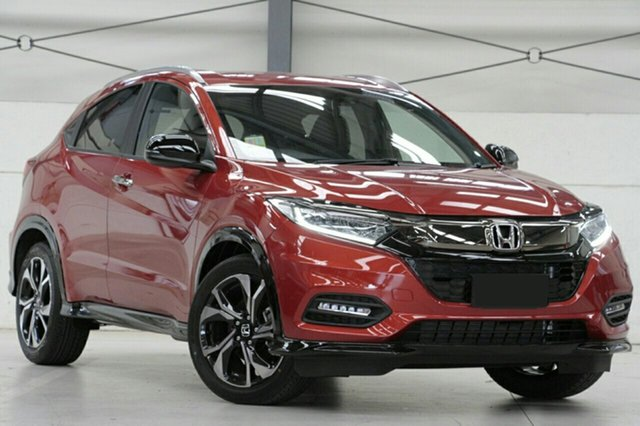 New Honda HR-V MY20 RS, 2019 Honda HR-V MY20 RS Phoenix Orange 1 Speed Constant Variable Hatchback