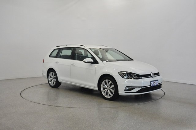 Used Volkswagen Golf 7.5 MY18 110TSI DSG Highline, 2018 Volkswagen Golf 7.5 MY18 110TSI DSG Highline Pure White 7 Speed Sports Automatic Dual Clutch