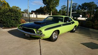 1974 Dodge Challenger T/A Tribute Green 3 Speed Automatic Coupe.
