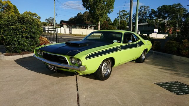 Used Dodge Challenger  , 1974 Dodge Challenger T/A Tribute Green 3 Speed Automatic Coupe