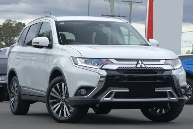New Mitsubishi Outlander ZL MY20 LS 2WD, 2019 Mitsubishi Outlander ZL MY20 LS 2WD White 6 Speed Constant Variable Wagon
