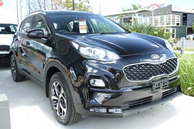 New Kia Sportage QL MY19 Si 2WD, 2019 Kia Sportage QL MY19 Si 2WD Cherry Black 6 Speed Sports Automatic Wagon