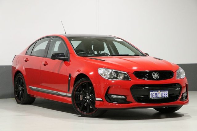 Used Holden Commodore VF II MY17 SS-V Redline Motorsport Edt, 2017 Holden Commodore VF II MY17 SS-V Redline Motorsport Edt Red Hot 6 Speed Manual Sedan
