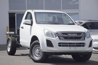 2018 Isuzu D-MAX MY18 SX 4x2 High Ride Splash White 6 Speed Sports Automatic Cab Chassis.