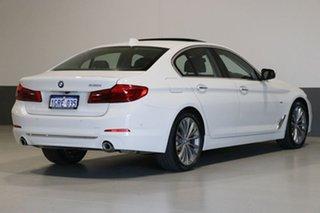2017 BMW 530i G30 MY18 Luxury Line White 8 Speed Automatic Sedan