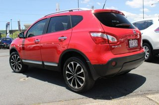 2013 Nissan Dualis J10W Series 4 MY13 Ti-L Hatch X-tronic 2WD Red 6 Speed Constant Variable