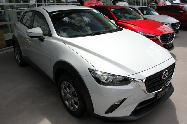 New Mazda CX-3 DK2W7A Neo SKYACTIV-Drive FWD Sport Wollongong, 2020 Mazda CX-3 DK2W7A Neo SKYACTIV-Drive FWD Sport Snowflake White Pearl 6 Speed Sports Automatic
