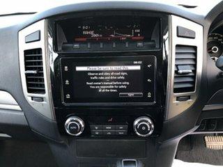 2016 Mitsubishi Pajero NX MY16 GLS LWB (4x4) Silver 5 Speed Auto Sports Mode Wagon