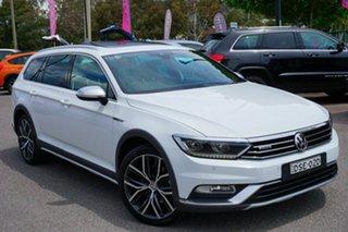 2017 Volkswagen Passat 3C (B8) MY17 Alltrack DSG 4MOTION Wolfsburg Edition White 6 Speed.