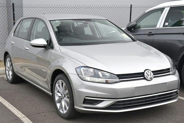 New Volkswagen Golf 7.5 MY19 110TSI DSG Comfortline, 2018 Volkswagen Golf 7.5 MY19 110TSI DSG Comfortline Tungsten Silver 7 Speed