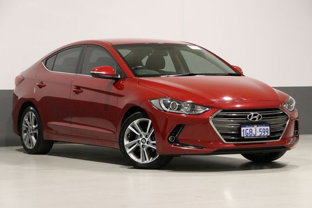 Used Hyundai Elantra AD Elite 2.0 MPI, 2016 Hyundai Elantra AD Elite 2.0 MPI Red 6 Speed Automatic Sedan