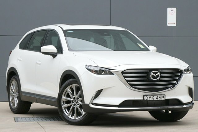 Demo Mazda CX-9 TC GT SKYACTIV-Drive, 2018 Mazda CX-9 TC GT SKYACTIV-Drive Snowflake White 6 Speed Sports Automatic Wagon