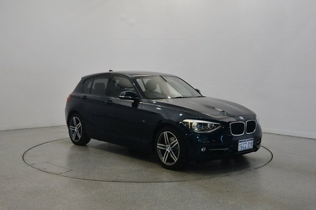Used BMW 118i F20 , 2012 BMW 118i F20 Blue 8 Speed Sports Automatic Hatchback