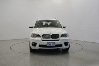 2013 BMW X5 E70 MY1112 xDrive40d Steptronic Sport White 8 Speed Sports Automatic Wagon