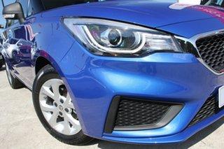 2021 MG MG3 SZP1 MY21 Core Regal Blue 4 Speed Automatic Hatchback.