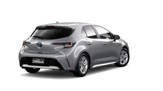 2019 Toyota Corolla ZWE211R SX E-CVT Hybrid Silver Pearl 10 Speed Constant Variable Hatchback Hybrid.