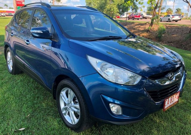 Used Hyundai ix35 LM2 Elite AWD, 2013 Hyundai ix35 LM2 Elite AWD Blue 6 Speed Sports Automatic Wagon