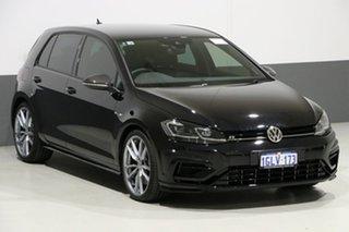 2018 Volkswagen Golf AU MY18 R Wolfsburg Edition Black 6 Speed Direct Shift Hatchback