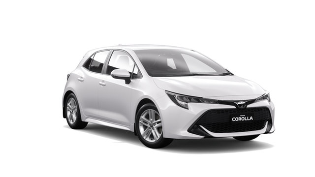 New Toyota Corolla Mzea12R Ascent Sport Albion, 2021 Toyota Corolla Mzea12R Ascent Sport Glacier White 10 Speed Constant Variable Hatchback