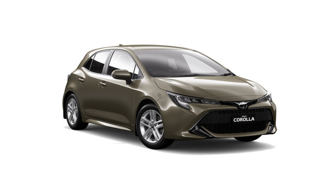 New Toyota Corolla Mzea12R SX, 2018 Toyota Corolla Mzea12R SX Oxide Bronze Continuous Variable Hatchback