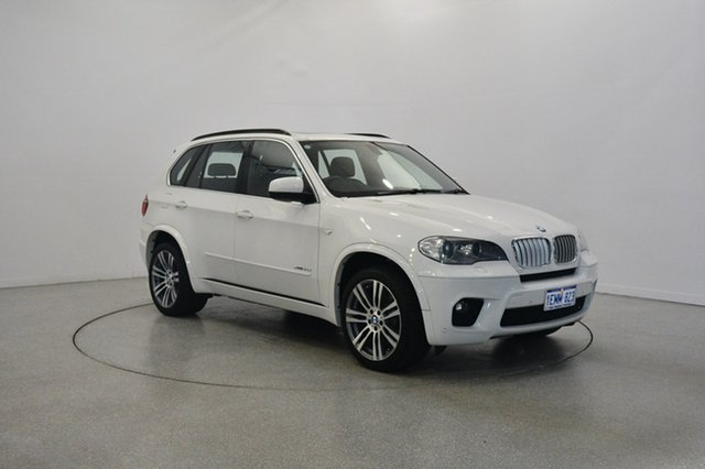 Used BMW X5 E70 MY1112 xDrive40d Steptronic Sport, 2013 BMW X5 E70 MY1112 xDrive40d Steptronic Sport White 8 Speed Sports Automatic Wagon