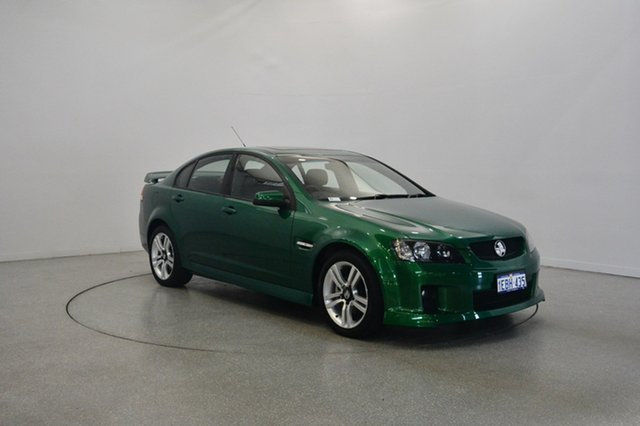 Used Holden Commodore VE MY10 SV6, 2010 Holden Commodore VE MY10 SV6 Poison Ivy 6 Speed Manual Sedan