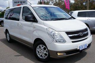 2013 Hyundai iMAX TQ-W MY13 Creamy White 5 Speed Automatic Wagon.