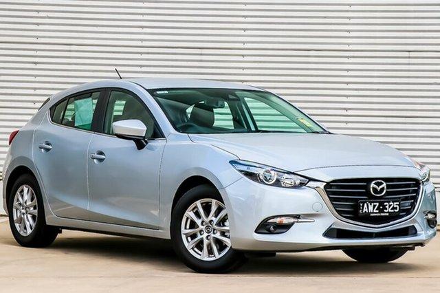 Demo Mazda 3 BN5478 Touring SKYACTIV-Drive, 2018 Mazda 3 BN5478 Touring SKYACTIV-Drive Sonic Silver 6 Speed Sports Automatic Hatchback