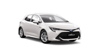 2019 Toyota Corolla ZWE211R Ascent Sport E-CVT Hybrid Crystal Pearl 10 Speed Constant Variable.