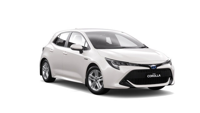 New Toyota Corolla ZWE211R Ascent Sport E-CVT Hybrid, 2020 Toyota Corolla ZWE211R Ascent Sport E-CVT Hybrid Super White 10 Speed Constant Variable