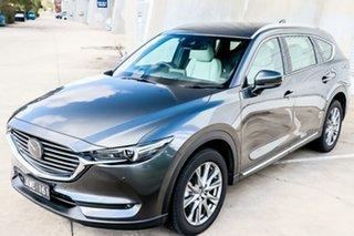 2018 Mazda CX-8 KG4W2A Asaki SKYACTIV-Drive i-ACTIV AWD Machine Grey 6 Speed Sports Automatic Wagon.