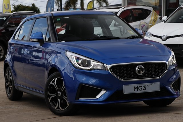 New MG MG3 SZP1 MY18 Excite, 2018 MG MG3 SZP1 MY18 Excite Thames Blue 4 Speed Automatic Hatchback