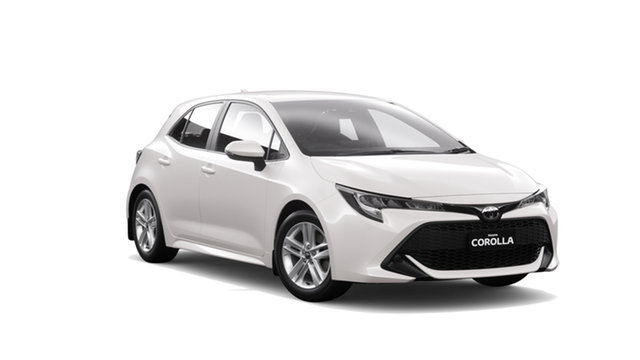 New Toyota Corolla Mzea12R Ascent Sport, 2019 Toyota Corolla Mzea12R Ascent Sport Super White 10 Speed Constant Variable Hatchback
