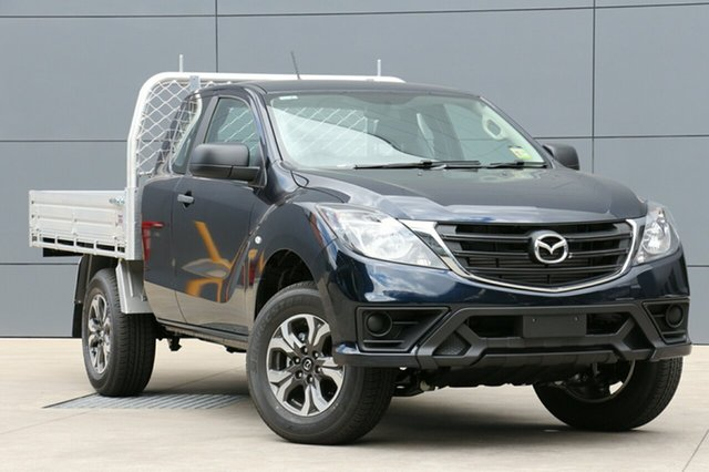 New Mazda BT-50 UR0YG1 XT Freestyle 4x2 Hi-Rider, 2018 Mazda BT-50 UR0YG1 XT Freestyle 4x2 Hi-Rider Deep Crystal Blue 6 Speed Sports Automatic