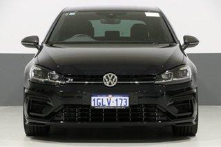 2018 Volkswagen Golf AU MY18 R Wolfsburg Edition Black 6 Speed Direct Shift Hatchback.