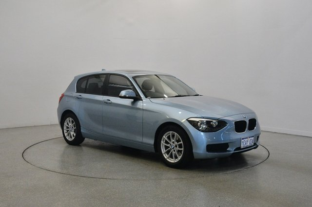 Used BMW 116i F20 , 2012 BMW 116i F20 Blue 8 Speed Sports Automatic Hatchback
