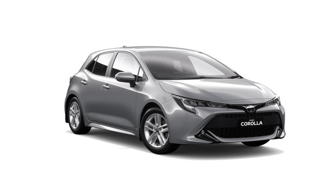 New Toyota Corolla Mzea12R SX, 2018 Toyota Corolla Mzea12R SX Silver Pearl Continuous Variable Hatchback