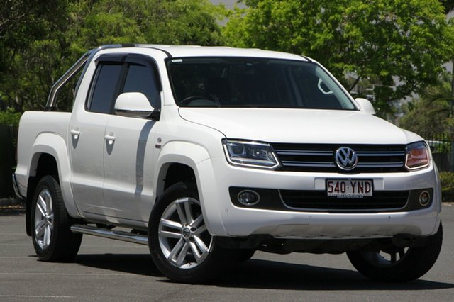 Used Volkswagen Amarok 2H MY16 TDI420 4Motion Perm Ultimate, 2015 Volkswagen Amarok 2H MY16 TDI420 4Motion Perm Ultimate White 8 Speed Automatic Utility