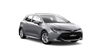 2018 Toyota Corolla Mzea12R Ascent Sport Silver Pearl Continuous Variable Hatchback.