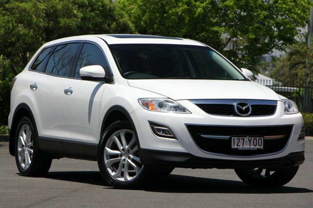 Used Mazda CX-9 TB10A4 MY12 Luxury, 2012 Mazda CX-9 TB10A4 MY12 Luxury White 6 Speed Sports Automatic Wagon