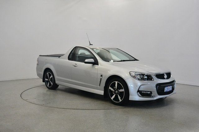 Used Holden Ute VF II MY17 SV6 Ute, 2017 Holden Ute VF II MY17 SV6 Ute Silver 6 Speed Sports Automatic Utility
