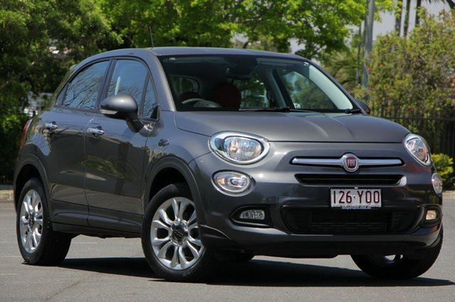 Used Fiat 500X 334 Pop Star DDCT, 2015 Fiat 500X 334 Pop Star DDCT Grey 6 Speed Sports Automatic Dual Clutch Wagon