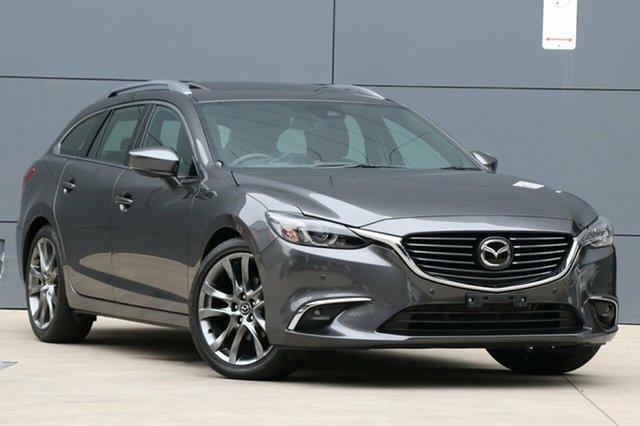 Used Mazda 6 GL1031 Atenza SKYACTIV-Drive, 2018 Mazda 6 GL1031 Atenza SKYACTIV-Drive Machine Grey 6 Speed Sports Automatic Wagon