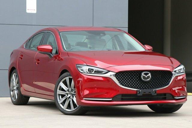 Used Mazda 6 GL1022 GT SKYACTIV-Drive, 2018 Mazda 6 GL1022 GT SKYACTIV-Drive Soul Red Crystal 6 Speed Sports Automatic Sedan