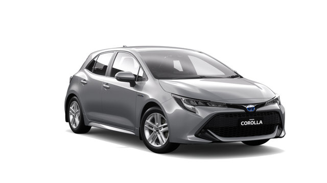 New Toyota Corolla ZWE211R Ascent Sport E-CVT Hybrid, 2018 Toyota Corolla ZWE211R Ascent Sport E-CVT Hybrid Silver Pearl 10 Speed Constant Variable