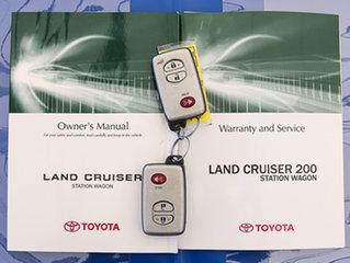 2011 Toyota Landcruiser UZJ200R 09 Upgrade Sahara (4x4) Grey 5 Speed Automatic Wagon