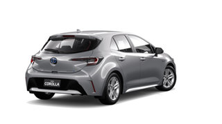 2018 Toyota Corolla ZWE211R Ascent Sport E-CVT Hybrid Silver Pearl 10 Speed Constant Variable.