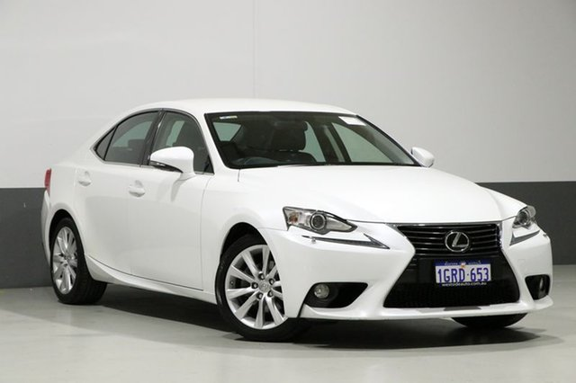 Used Lexus IS250 GSE20R MY11 Prestige, 2013 Lexus IS250 GSE20R MY11 Prestige Pearl White 6 Speed Auto Sequential Sedan
