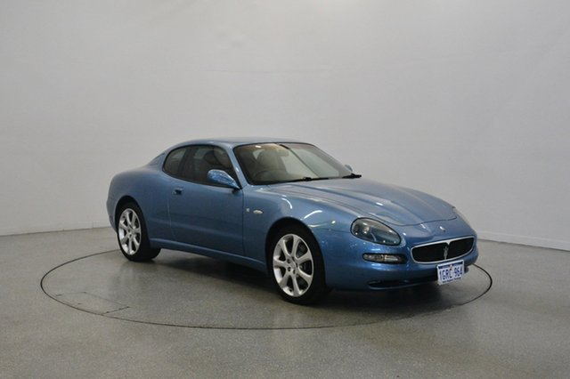 Used Maserati Coupe M138 MY2004 GT, 2004 Maserati Coupe M138 MY2004 GT Blue 6 Speed Manual Coupe