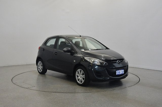 Used Mazda 2 DE10Y2 MY13 Neo, 2013 Mazda 2 DE10Y2 MY13 Neo Grey 4 Speed Automatic Hatchback